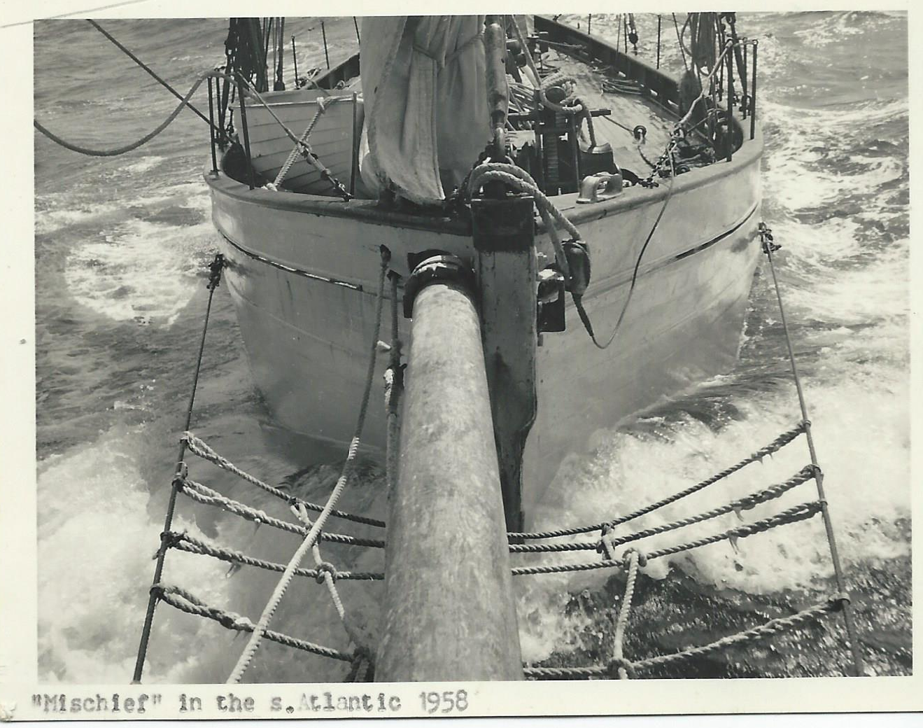 """Mischief"" in the South Atlantic 1958"
